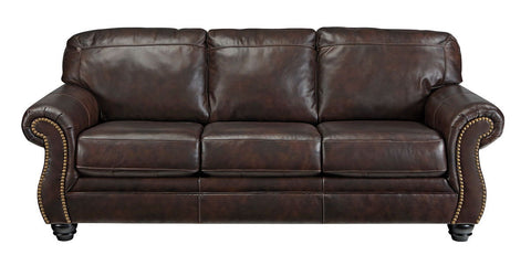 Shop Ashley Furniture Bristan Walnut Sofa at Mealey's Furniture