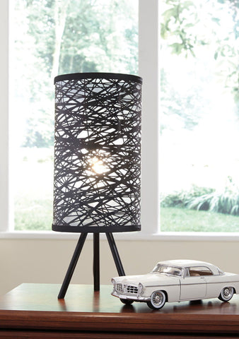 Shop Ashley Furniture Nettie Black Metal Table Lamp (1/CN) at Mealey's Furniture
