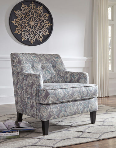 Shop Ashley Furniture Clane- Mint Accent Chair at Mealey's Furniture