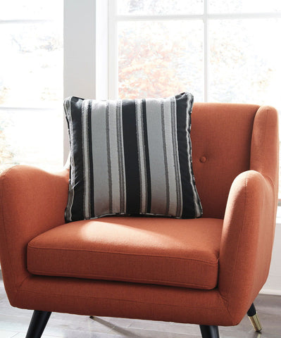 Shop Ashley Furniture Samuel Black/Tan Pillow at Mealey's Furniture