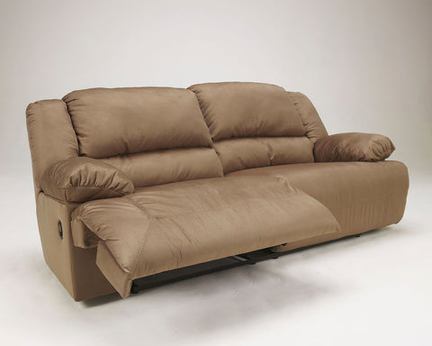 Shop Ashley Furniture Hogan Mocha 2 Seat Rec Sofa at Mealey's Furniture