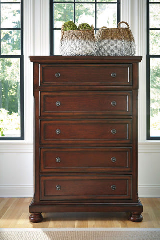 Shop Ashley Furniture Porter Chest at Mealey's Furniture