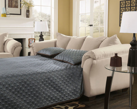 Shop Ashley Furniture Darcy Stone Full Sleeper at Mealey's Furniture