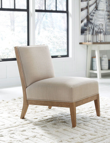 Novelda- Neutral Accent Chair