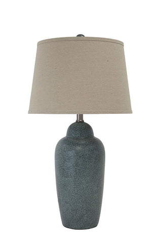 Shop Ashley Furniture Saher Green Ceramic Table Lamp (1/CN) at Mealey's Furniture
