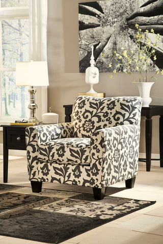 Shop Ashley Furniture Levon Charcoal Accent Chair at Mealey's Furniture