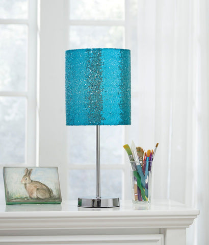 Shop Ashley Furniture Maddy Teal/Silver Finish Metal Table Lamp (1/CN) at Mealey's Furniture