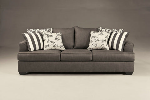 Shop Ashley Furniture Levon Charcoal Sofa at Mealey's Furniture