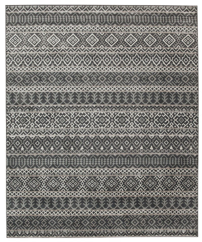 Joachim Black/Tan Medium Rug