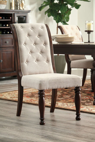 Shop Ashley Furniture Porter Dining Uph Side Chair at Mealey's Furniture
