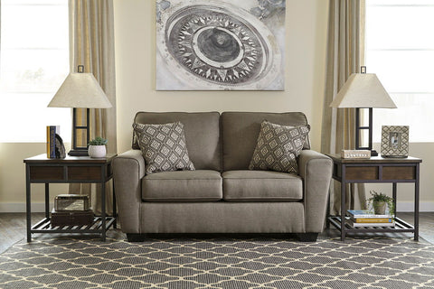 Shop Ashley Furniture Calicho Cashmere Loveseat at Mealey's Furniture