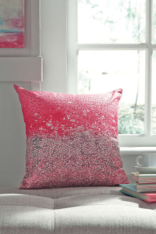 Shop Ashley Furniture Meilani- Pink Pillow at Mealey's Furniture