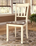 Shop Ashley Furniture Whitesburg Dining Room Side Chair at Mealey's Furniture
