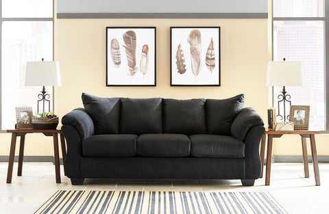 Shop Ashley Furniture Darcy Black Sofa at Mealey's Furniture