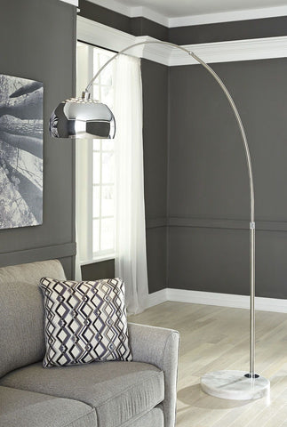 Osasco Silver Finish Metal Arc Lamp (1/CN)