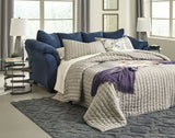 Shop Ashley Furniture Darcy Blue Full Sofa Sleeper at Mealey's Furniture