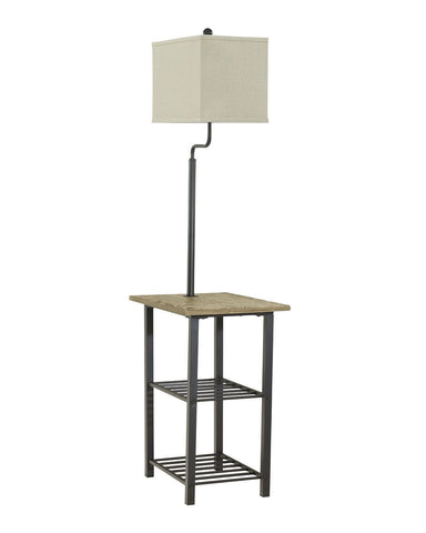 Shop Ashley Furniture Shianne Black Metal Tray Lamp (1/CN) at Mealey's Furniture