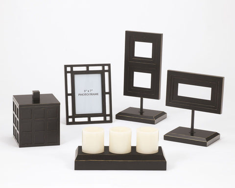 Shop Ashley Furniture Deidra Black Accessory Set (5/CN) at Mealey's Furniture