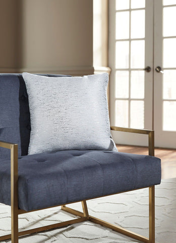Shop Ashley Furniture Tacey off White/Silver Pillow at Mealey's Furniture