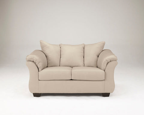 Shop Ashley Furniture Darcy Stone Loveseat at Mealey's Furniture