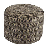 Shop Ashley Furniture Chevron Natural Pouf at Mealey's Furniture