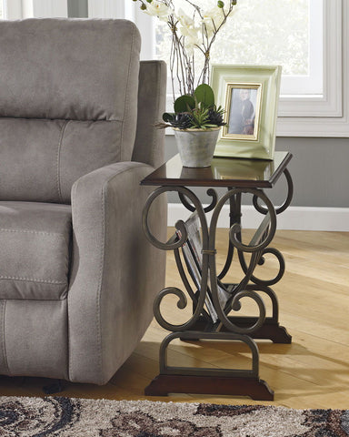 Shop Ashley Furniture Braunsen Chair Side End Table at Mealey's Furniture