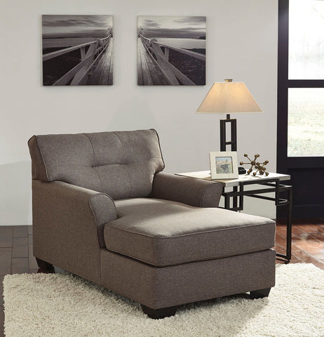Shop Ashley Furniture Tibbee Slate Chaise at Mealey's Furniture