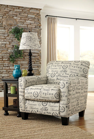 Shop Ashley Furniture Alenya Quartz Accent Chair at Mealey's Furniture