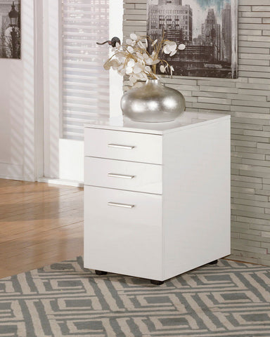 Shop Ashley Furniture Baraga File Cabinet at Mealey's Furniture