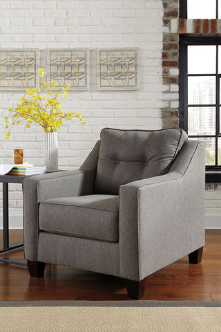 Shop Ashley Furniture Brindon Chair    Charcoal at Mealey's Furniture