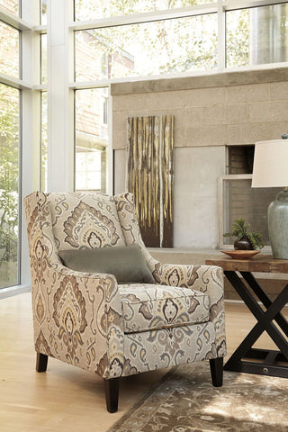 Shop Ashley Furniture Wilcot Gray Accent Chair at Mealey's Furniture