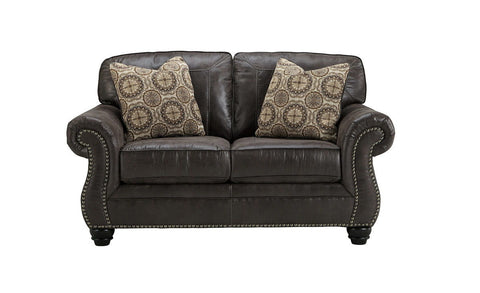 Shop Ashley Furniture Breville Charcoal Loveseat at Mealey's Furniture