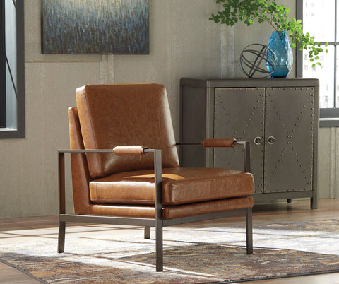 Shop Ashley Furniture Peacemaker Brown Accent Chair at Mealey's Furniture
