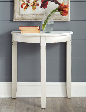 Shop Ashley Furniture Birchata White Console Table at Mealey's Furniture