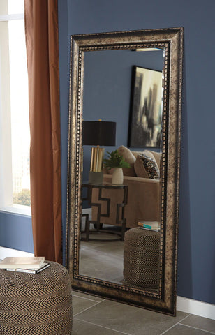 Shop Ashley Furniture Dulal Long Accent Mirror at Mealey's Furniture