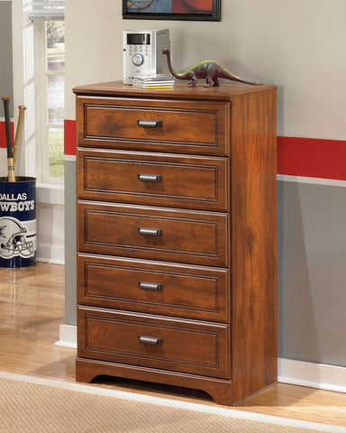 Shop Ashley Furniture Barchan Five Drawer Chest at Mealey's Furniture