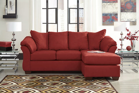 Shop Ashley Furniture Darcy Salsa Sofa Chaise at Mealey's Furniture