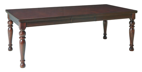 Shop Ashley Furniture Porter Rectangular Extension Table at Mealey's Furniture