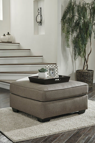 Shop Ashley Furniture Calicho Cashmere Oversized Accent Ottoman at Mealey's Furniture