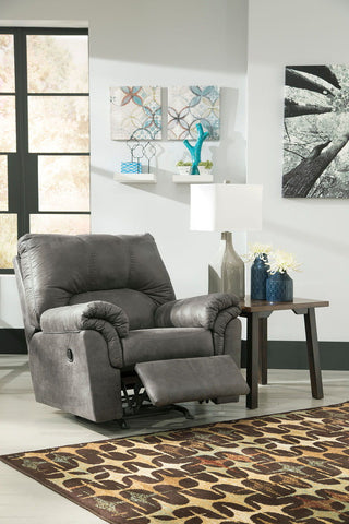 Shop Ashley Furniture Bladen Slate Rocker Recliner at Mealey's Furniture