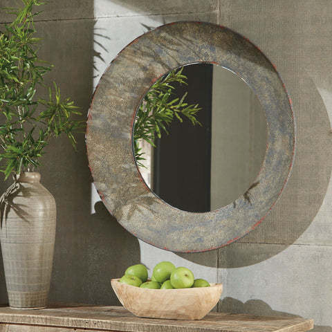 Shop Ashley Furniture Carine Gray Accent Mirror at Mealey's Furniture