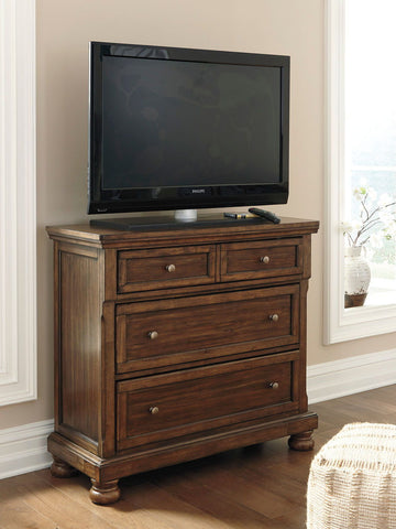 Shop Ashley Furniture Flynnter Media Chest at Mealey's Furniture