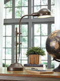 Shop Ashley Furniture Maaike Bronze Finish Metal Desk Lamp (1/CN) at Mealey's Furniture