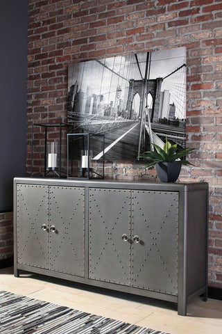 Shop Ashley Furniture Rock Ridge Door Accent Cabinet at Mealey's Furniture