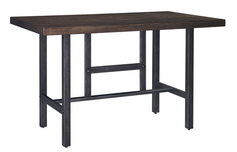 Shop Ashley Furniture Kavara Medium Brown Rect Dining Room Counter Table at Mealey's Furniture