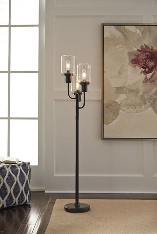 Shop Ashley Furniture Jaak Metal Floor Lamp (1/CN) at Mealey's Furniture