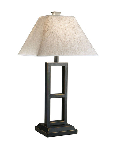 Shop Ashley Furniture Deidra Black Metal Table Lamp (2/CN) at Mealey's Furniture