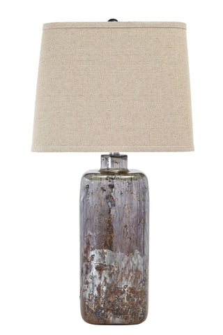 Shop Ashley Shanilly Multi Glass Table Lamp (1/CN) at Mealey's Furniture