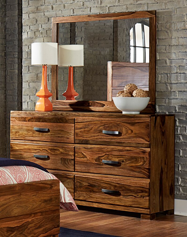Shop Hillsdale Madera Madera Dresser & Mirror at Mealey's Furniture