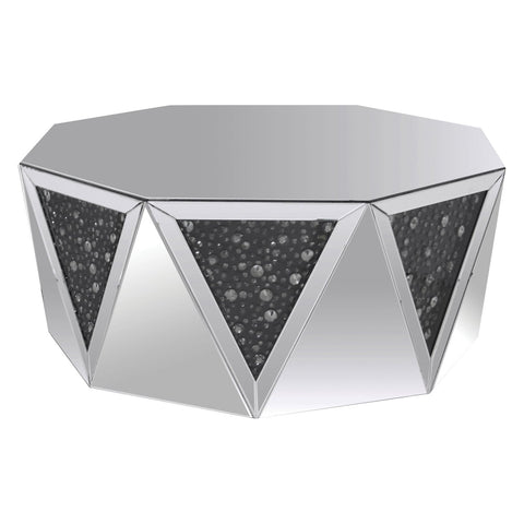 Shop Acme Furniture Noor Mirrored Coffee Table at Mealey's Furniture